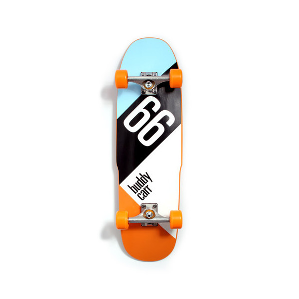 Buddy Carr 66 Signature Complete Skateboard with 9 x 32-Inch/15-Inch Wheel Base