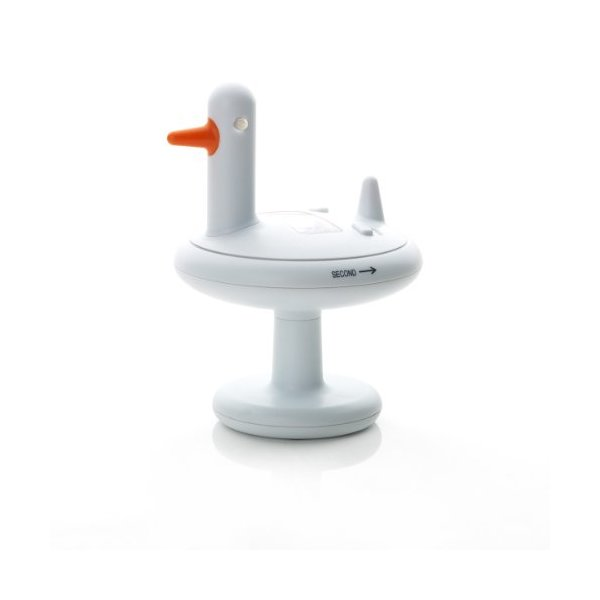 Alessi Duck Electronic Kitchen Timer White