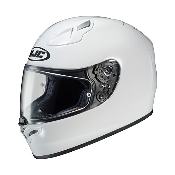 HJC FG-17 Full-Face Motorcycle Helmet (White, Medium)