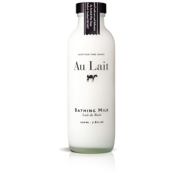 Scottish Fine Soaps Au Lait Bathing Milk, 220ml