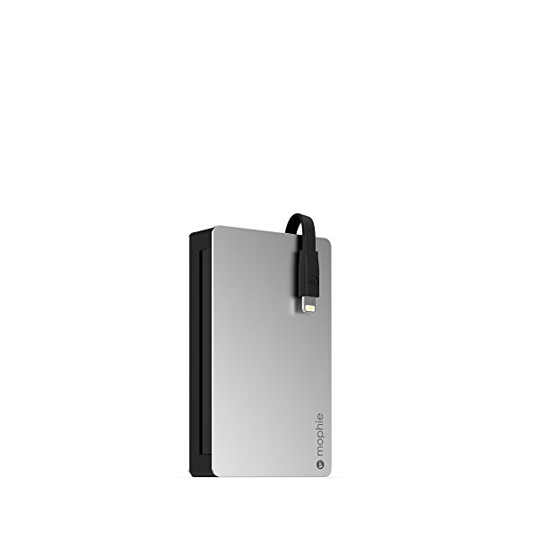 Mophie Powerstation Plus 3x with Lightning Connector (5, 000 mAh)- Black