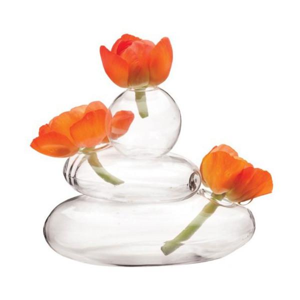 Chive - Hudson Rockpile, Glass Flower Vase