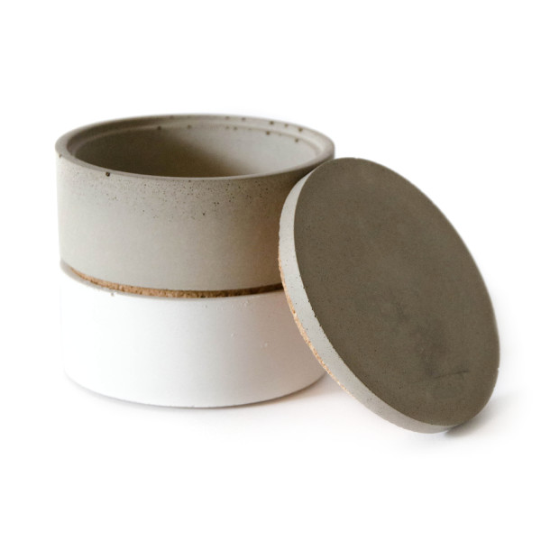 Culinarium Spice Stacker, Gray and White