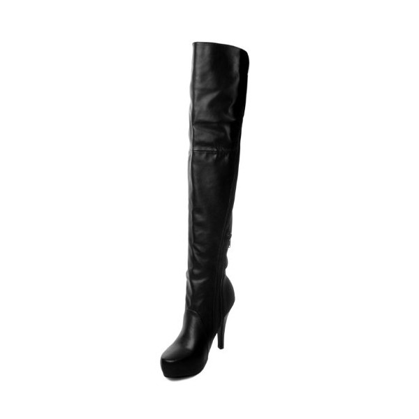 G Antini Ladies Platform High Heel Over the Knee Boots