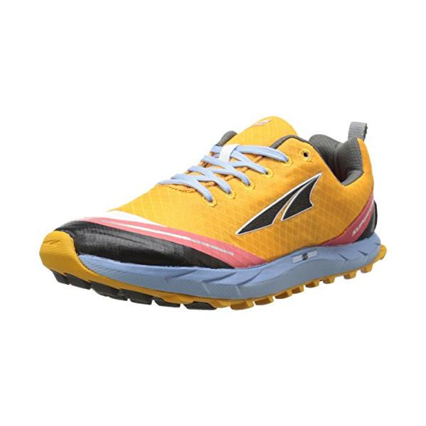 Altra Running Womens Superior 2 Trail Running Shoe, Orange/Blue, 9 M US