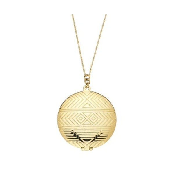 House of Harlow 1960 - Medallion Pendant - 14 Karat Yellow Gold Plated