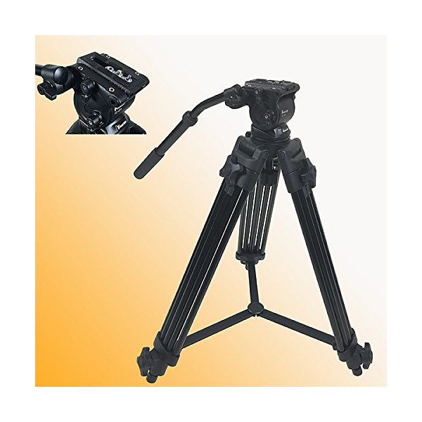 Fancierstudio Professional Heavy Duty Video Camcorder Tripod Fluid Drag Head Kits FC270A