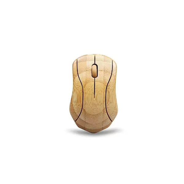 Tonor® Bamboo Wireless Mouse Healthy Sweat-Resistant Anti-radiation Wireless Mouse