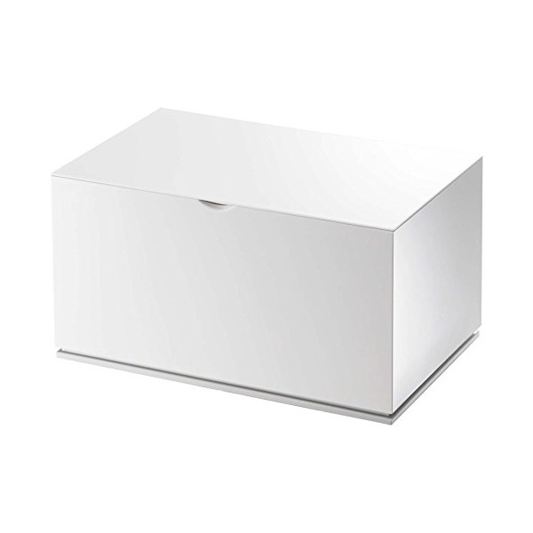 YAMAZAKI home 2427 Veil Cotton Case, White