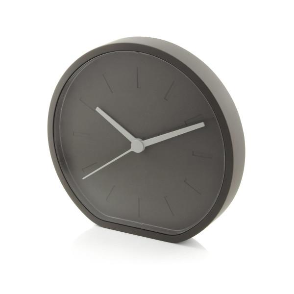 Lexon Side Horloge Analogique, Analog Clock, Gris