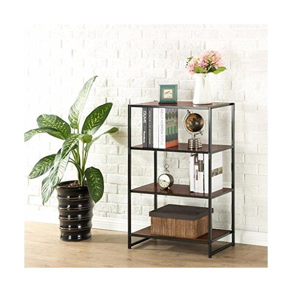 Zinus Modern Studio Collection 4-Shelf Bookcase
