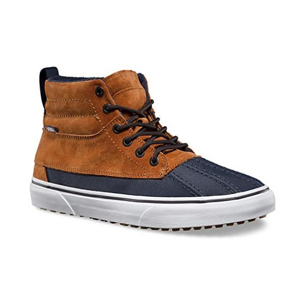 Vans Mens Sk8-Hi Del Pato MTE Ginger/Navy Sneaker - 8