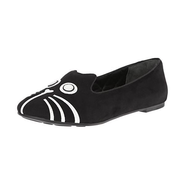 Marc by Marc Jacobs Women's Rue Slip-On Loafer,Black,40 BR/10 M US