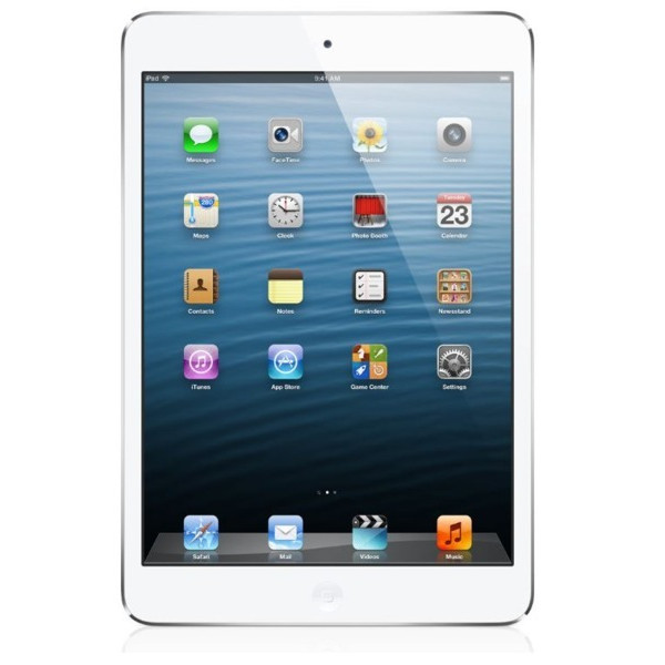 Apple iPad Mini (16GB, Wi-Fi, White / Silver)