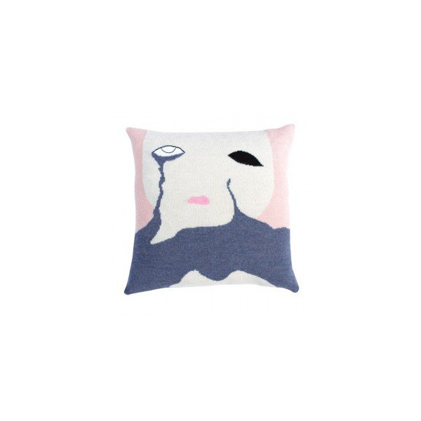 Cry Baby Pillow Case (Nude)