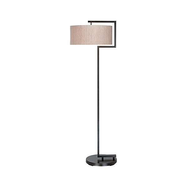 Pacific Coast Lighting Pacific Coast Lighting The Urbanite Floor Lamp, Browns / Beige, Metal