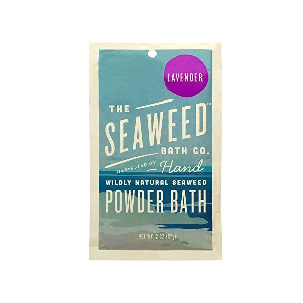 Wildly Natural Seaweed Powder Bath - Lavender, 2oz