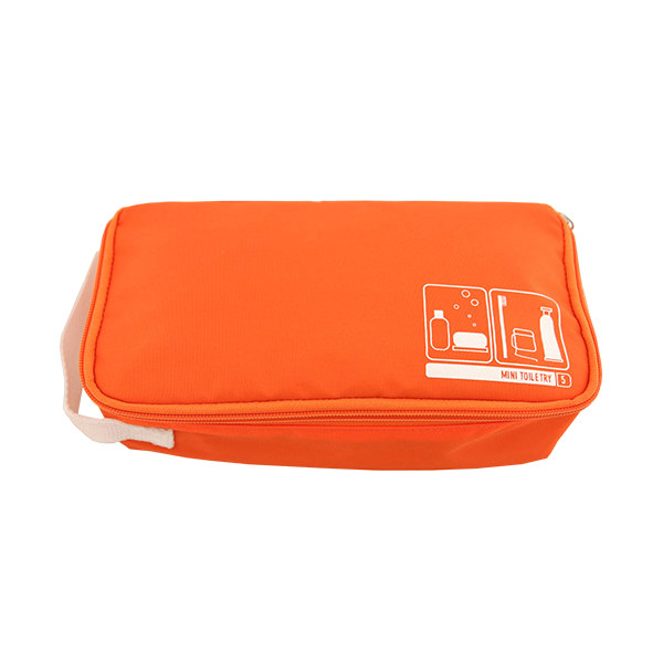 Flight 001 Spacepak Toiletry, Orange