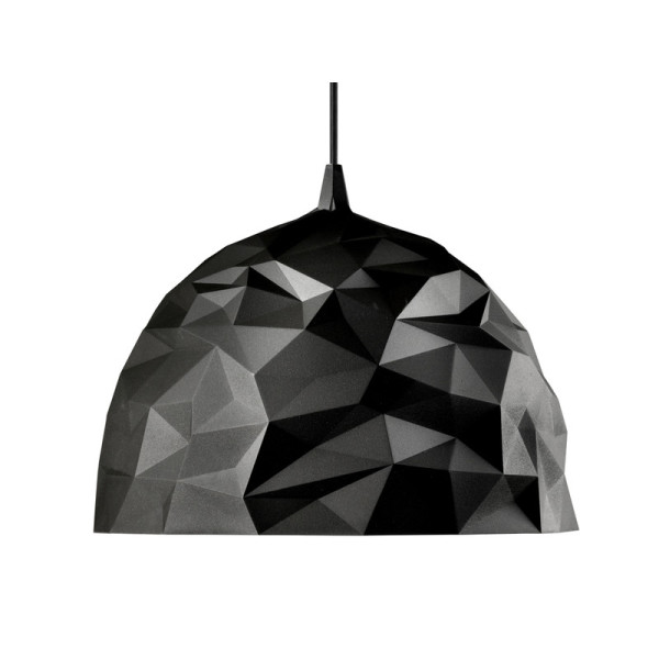 Rock Pendant Lamp, Brown