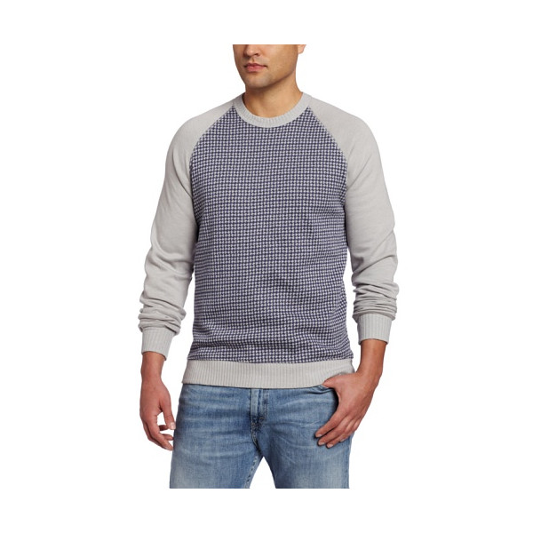 Alternative Men's Chuck Pullover Sweater, Cambridge Houndstooth