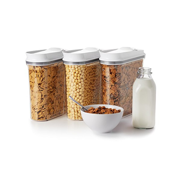 OXO Good Grips 3 Piece POP Cereal Dispenser Set