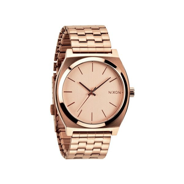Nixon Time Teller Gold Dial Unisex Quartz Watch