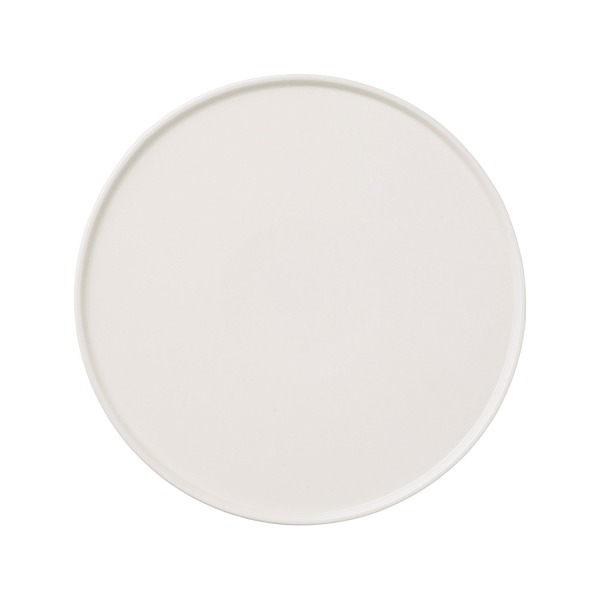 Bloomingville Ceramic Carina Plate, White