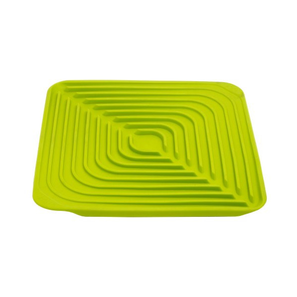 Joseph Joseph Flume Folding Draining Mat, Green