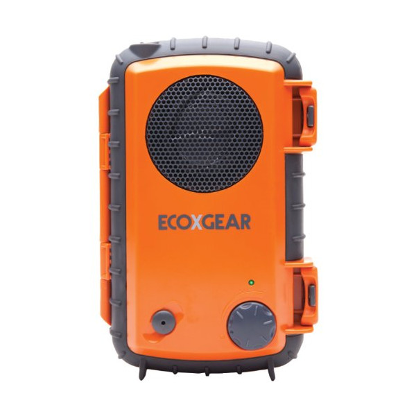 Grace Digital EcoXpro Waterproof Case with Built-In Speaker and Waterproof Headset Jack for Smartphones/MP3 Players, Orange (GDI-EGPRO100)