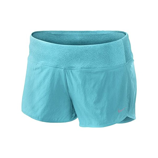 Nike Womens 2 inch Stretch Woven Rival Short - Large - Gamma Blue