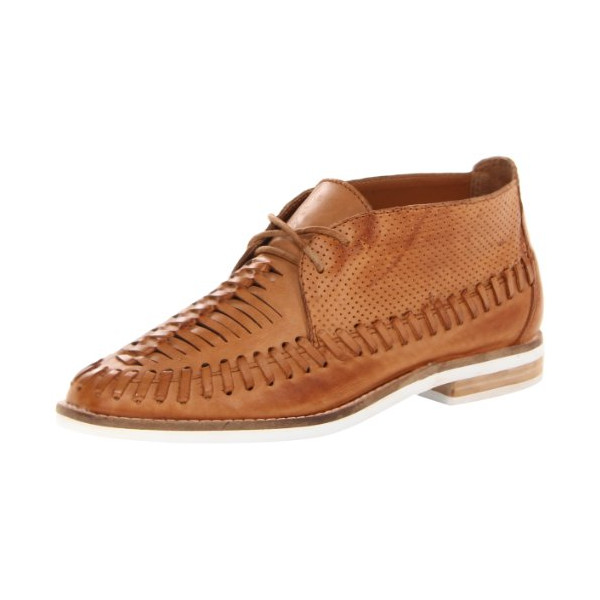 DV by Dolce Vita Women's Fio Oxford,Cognac Leather,8.5 M US