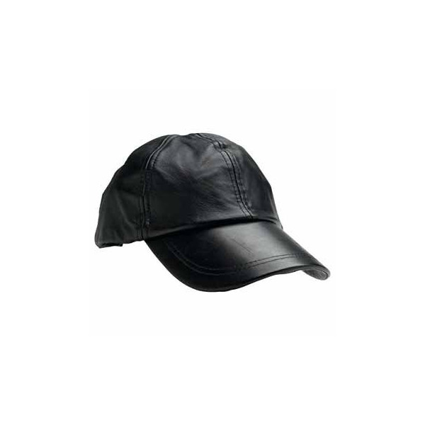 Giovanni Genuine Leather Baseball Cap Giovanni Genuine Leather Baseball Cap