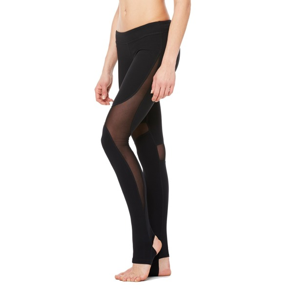 Alo Yoga Women's Coast Legging, Black, Large