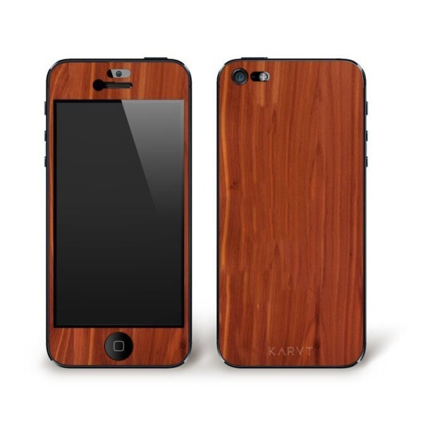 Karvt Wooden iPhone 5 & 5S Skin - Cedar