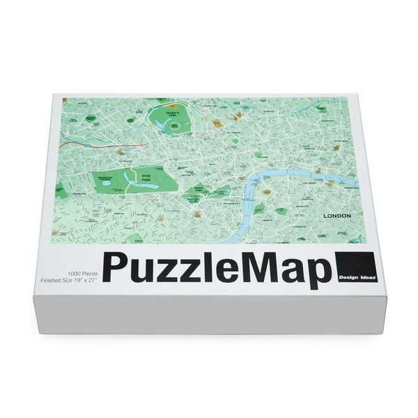 London Puzzle Map by Design Ideas, 1000 Pieces