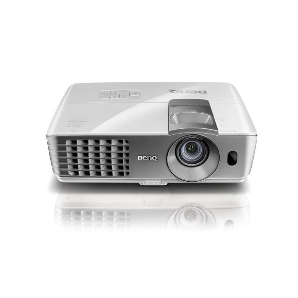 BenQ W1070 1080P 3D Home Theater Projector, White