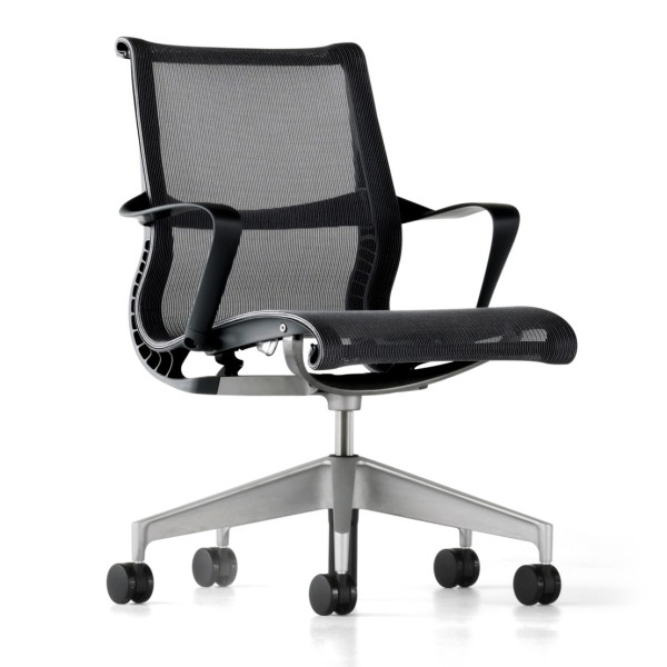 Setu Chair by Herman Miller, Graphite