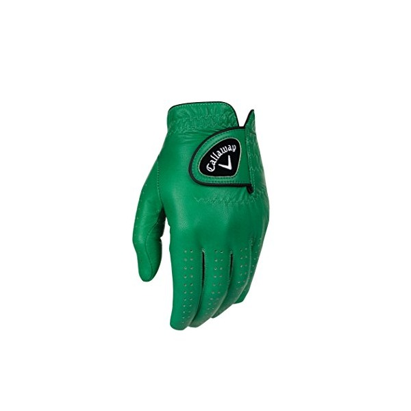 Callaway Opti Color Green Golf Glove 2016 Fit to Left Hand Regular Large