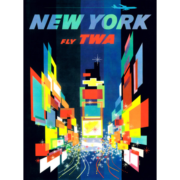 New York TWA 1000 Piece Puzzle