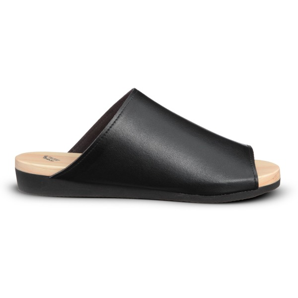 Flexible Japanese Geta Sandal By Drill Design - Black (7)