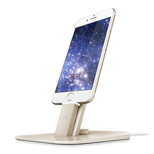 Twelve South HiRise Deluxe Dock Station, Gold