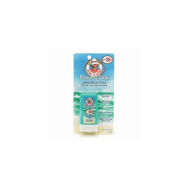 Panama Jack Sunscreen Stick, SPF 50 .47 fl oz (13.3 ml)