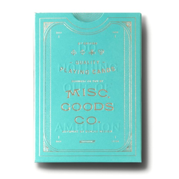 Misc. Goods Co. MGCO Card Deck, Green