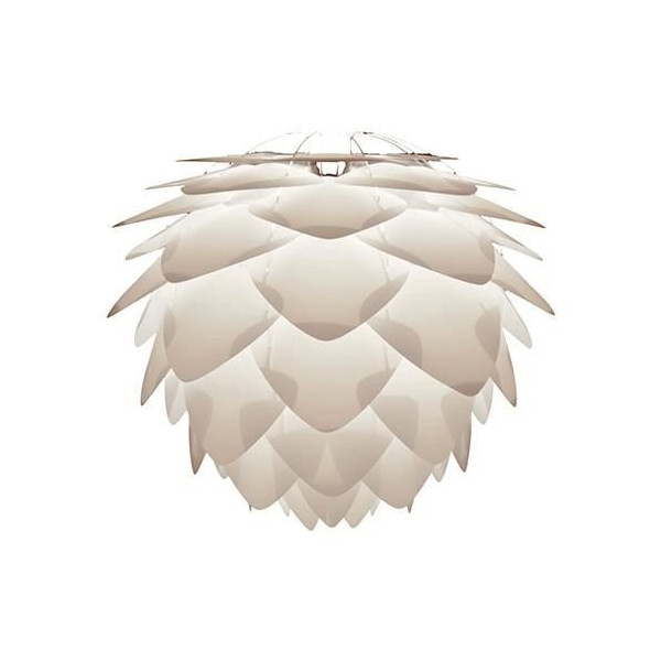 "Vita Silvia Pendant Light 17.7"" White"