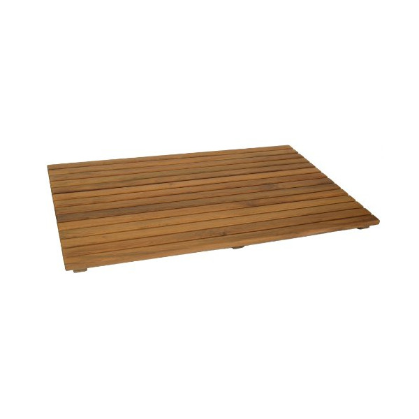 SeaTeak 60022 Shower Mat, Oiled Finish