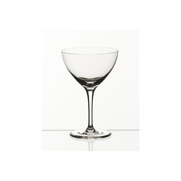 Set of 6 Martini / Champagne Classic Cocktail Glasses