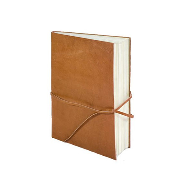 Rustic Leather Travel Journal, Fair Trade