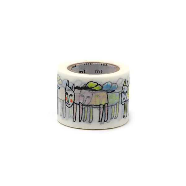 Washi MT x Mina Perhonen, Pegasus Masking Tape