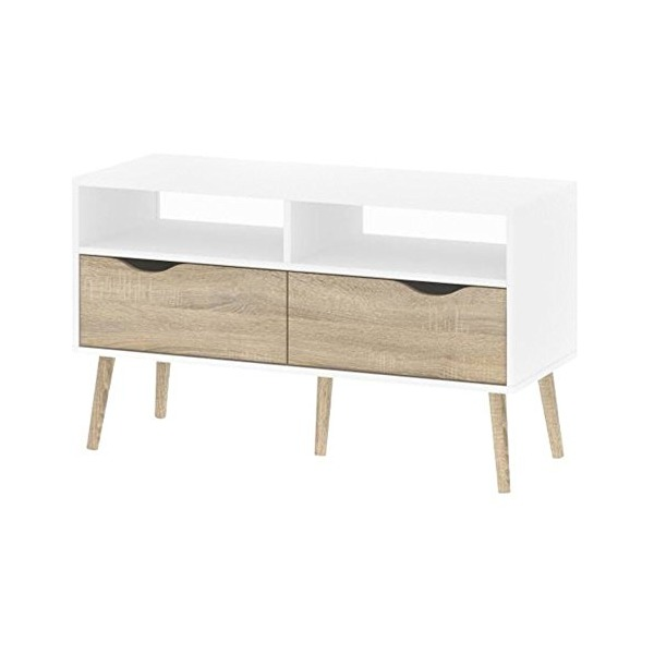 Tvilum Delta 2 Drawer TV Stand