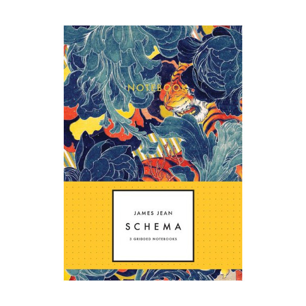 James Jean Schema Notebook Collection, 3 Gridded Notebooks
